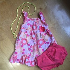🍬🍭Summer dress with diaper cover🍭🍬